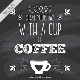 Beginnen Sie Ihren Tag mit einer Tasse Kaffee