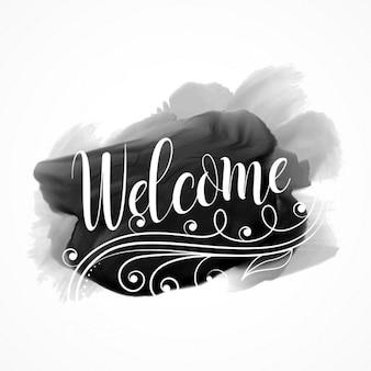 Bienvenido, künstlerische Wort