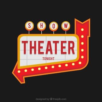 Billboard, Glühbirne, Glühen, Licht, Glühbirne, retro, Retro-Rahmen, zeigen, Zeichen, Schild, Theater, Jahrgang, Signal, Schilder, Neon