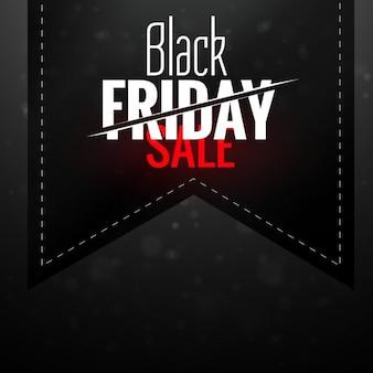 Black Friday Hintergrund mit Schleife