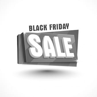 Black Friday Verkauf Banner Design.