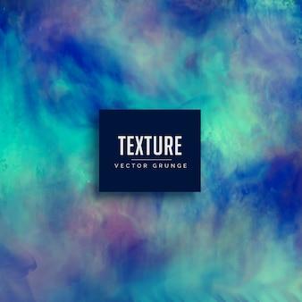 Blau schmutzig grunge textur hintergrund gemacht mit aquarell