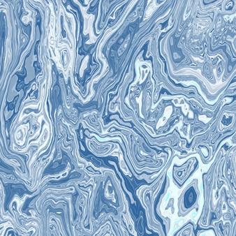 Blaue Aquarell Marmor Textur