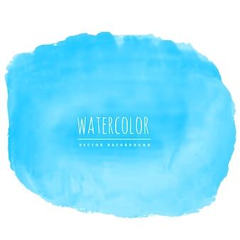 Blaue Aquarell Textur Fleck Hintergrund
