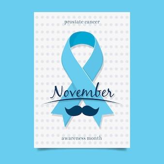 Blaue movember Broschüre