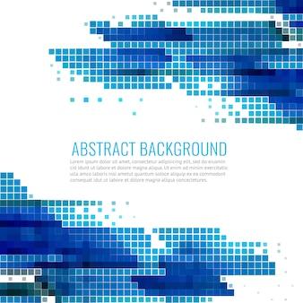Blaue und weiße abstrakte Hintergrund