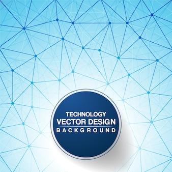 Blaue Vektor-Design Hintergrund