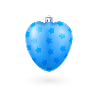 Blaue Weihnachtsbaumdekoration