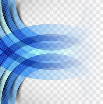 Blaue Welle Hintergrund