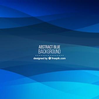 Blauer Hintergrund der abstrakten Formen