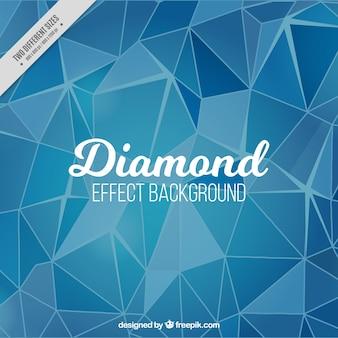 Blauer Hintergrund mit Diamanteffekt