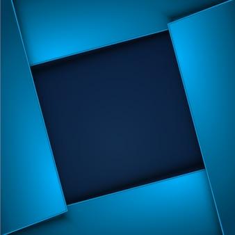 Blauer quadratischer Hintergrund