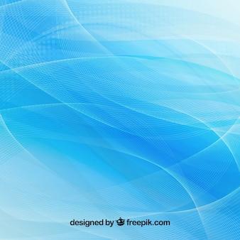 Blauer wellenförmiger Hintergrund