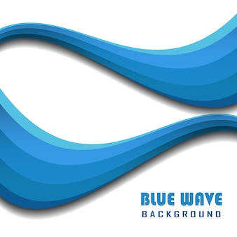 Blue Wave Hintergrund