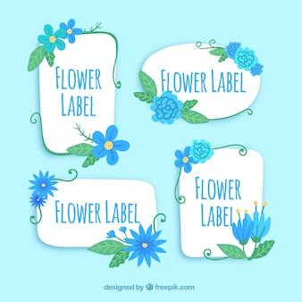 Blumenetikettensammlung