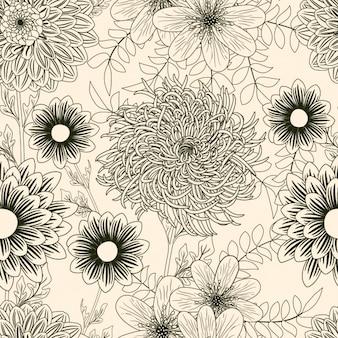 Blumenmuster Design