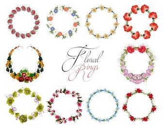 Blumenringe Sammlung