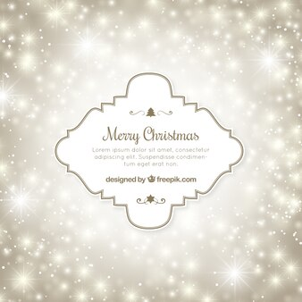 Bright Bokeh Frohe Weihnachten Hintergrund