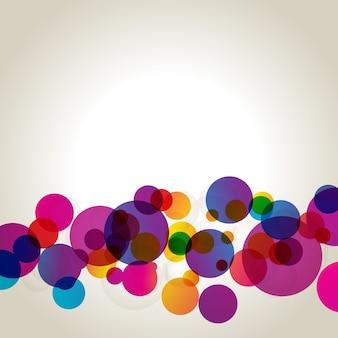 Bunte abstrakte Vektor-Design Hintergrund