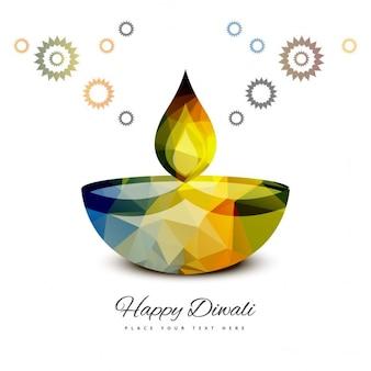 Bunte glücklich Diwali Hintergrund