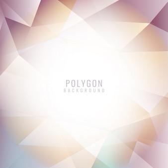 Bunter moderner polygonaler Hintergrund