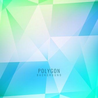 Buntes abstraktes Polygonform Hintergrund-Design