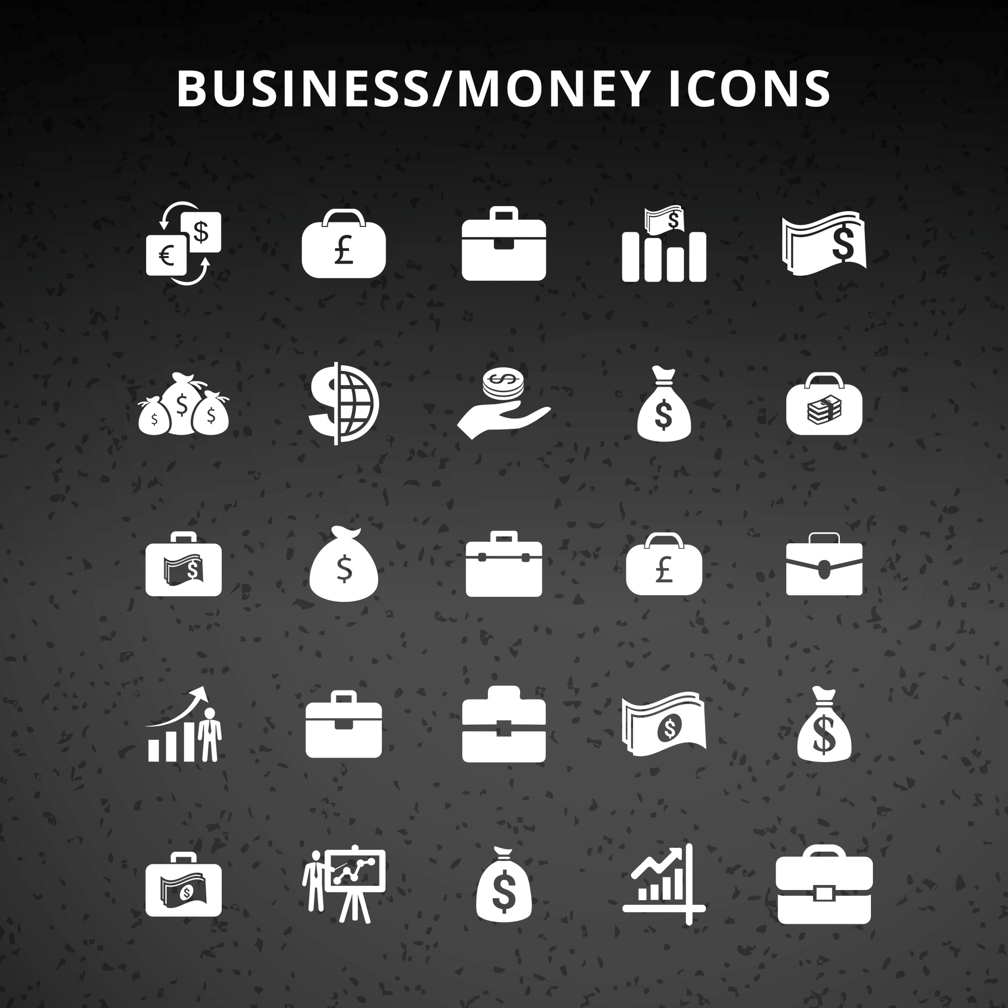Business Geld Icons