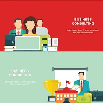 Business-Hintergrund-Design