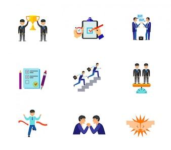 Business Icons Sammlung