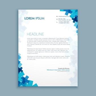 Business-Stil Corporate Briefpapier Design