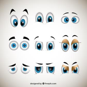 Cartoons Augen