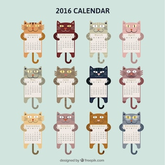 Cat-Kalender