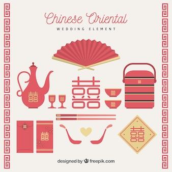 Chinesische Hochzeit Elemente