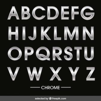 Chrom Alphabet