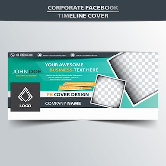 Corporate Facebook Timeline Abdeckung