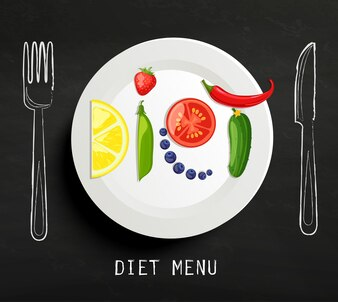 Das Konzept der Ernährung.