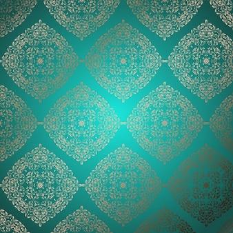 Dekorative Hintergrund mit einem eleganten Muster