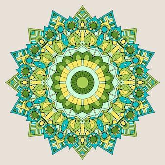 Dekorative Mandala Hintergrund