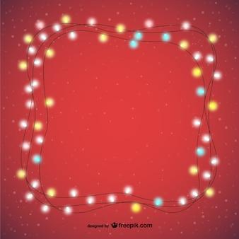 Dekorative Weihnachtsbeleuchtung