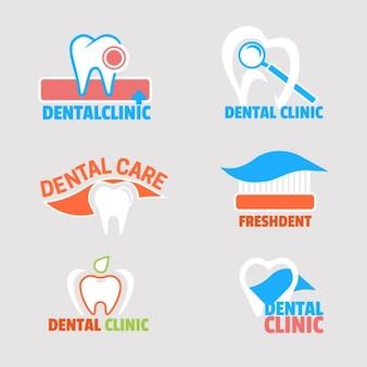 Dental-Logo-Sammlung