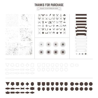 Design-Elemente Sammlung