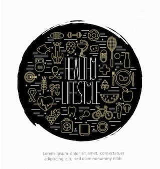 Design-Konzept des Lebensstils