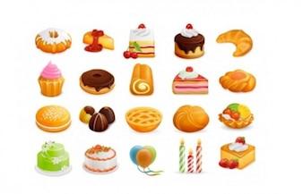 Dessert Symbole