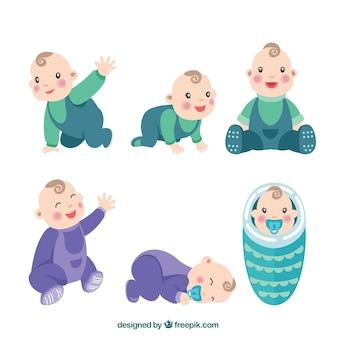 Die Auswahl von niedlichen Baby