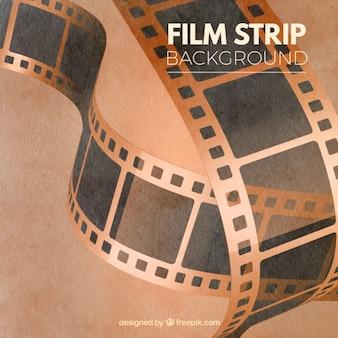 Dirty Vintage Filmstreifen Banner Hintergründe Vektor-Set