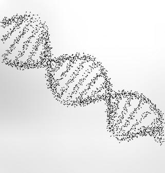 DNA medizinischen Hintergrund