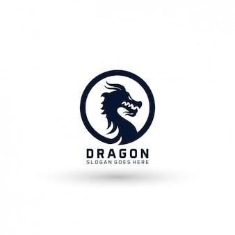 Drache-Logo-Vorlage