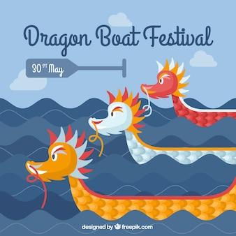 Drachenbootfestival Hintergrund
