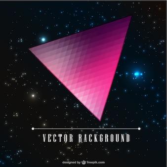 Dreieck-Design Vektor-Galaxie