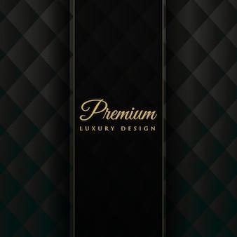 Dunkle Polsterung Premium Einladung Hintergrund